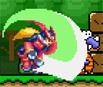 Megaman in Mario World