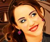 Maquiagem em Miley Cyrus