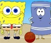 Bob Esponja Beach Volleyball