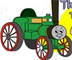 Desenhos do Thomas e Seus Amigos Para Colorir