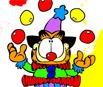 Desenhos do Garfield Para Colorir