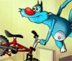 Oggy e as Baratas Tontas: Corrida de Bicicleta