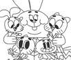 Incrível Mundo de Gumball: Colorir