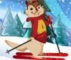 Alvin e os Esquilos: Esquiando