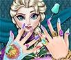 Pintar Unhas da Elsa