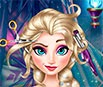 Frozen: Fazer Cabelo da Elsa
