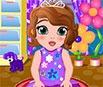 Princesa Sofia: Bebê