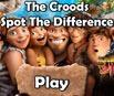 Os Croods - Encontre as Diferenças